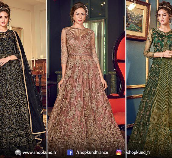 Qu'est-ce qui va le mieux avec les costumes Anarkali? Acheter en ligne des accessoires Anarkali