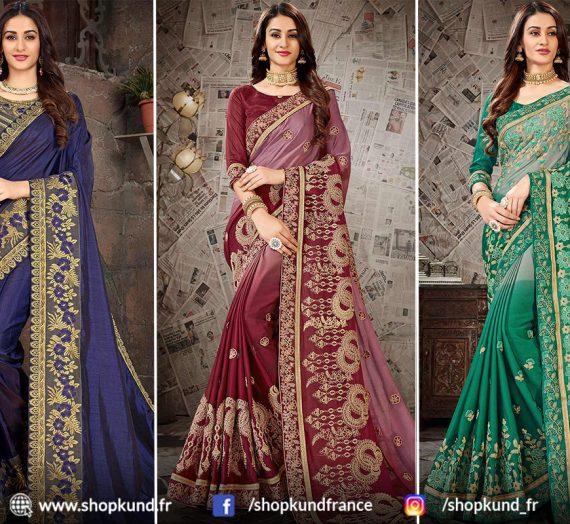 Comprendre l'ensemble Complet De Sari Indien