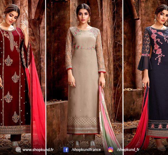 Derniers Styles de Costumes Patiala Salwar Pour la Prochaine Saison de Noël