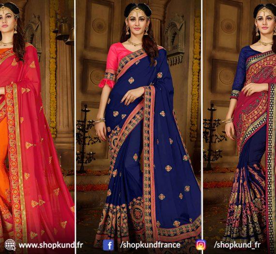 Meilleure collection Sari pour vous chez Shopkund