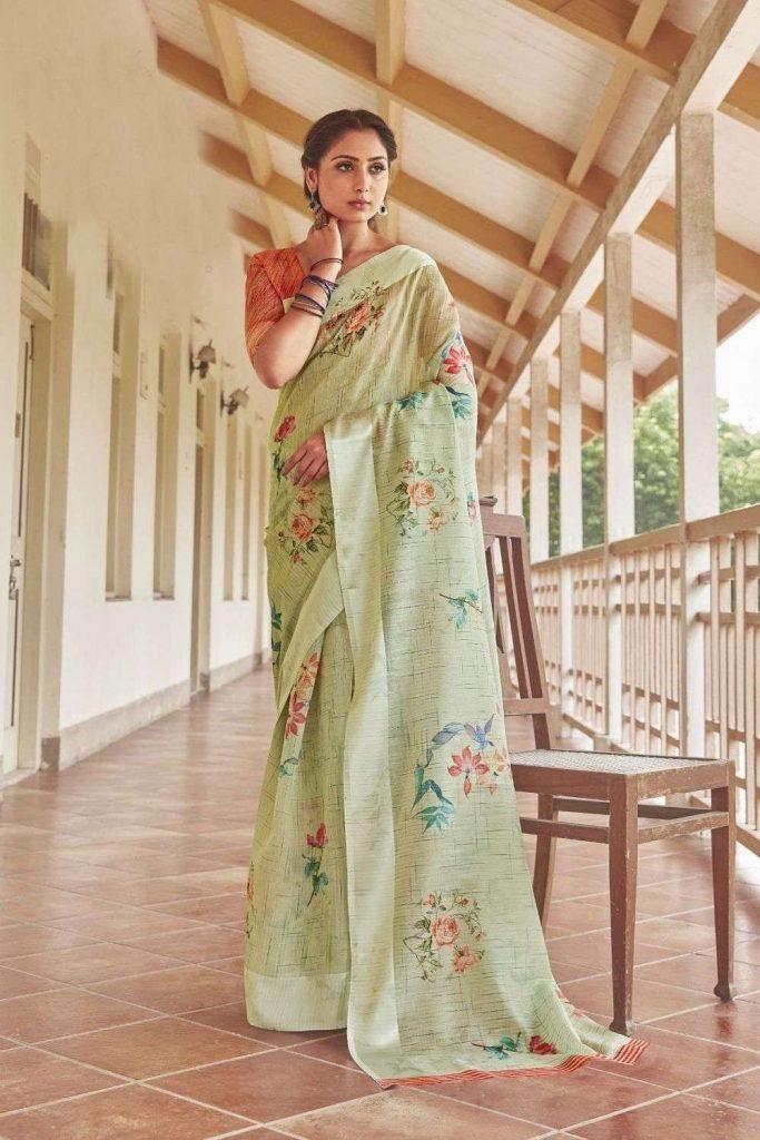 nivi style sari en ligne - shopkund
