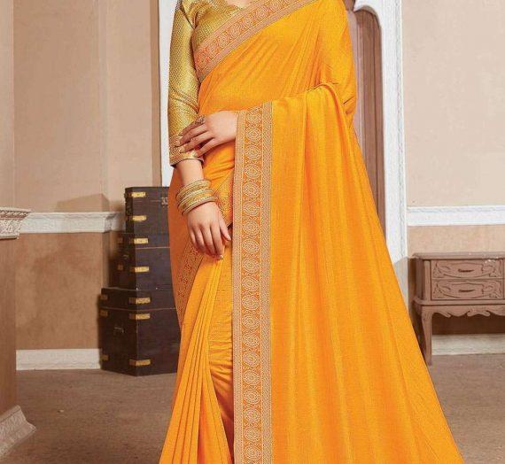 Aura mystique de Banarasi Georgette Sari dans le monde impertinent