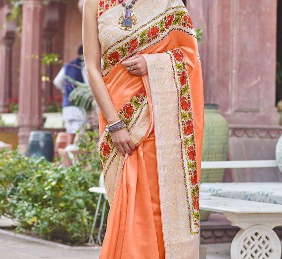 Choisissez 4 meilleurs saris en pure soie – le plus confortable