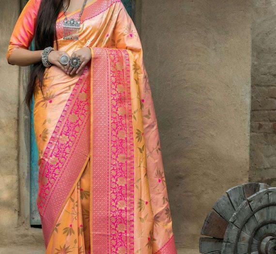Détendez-vous cet été avec la magnifique collection de sari en soie de coton à Shopkund